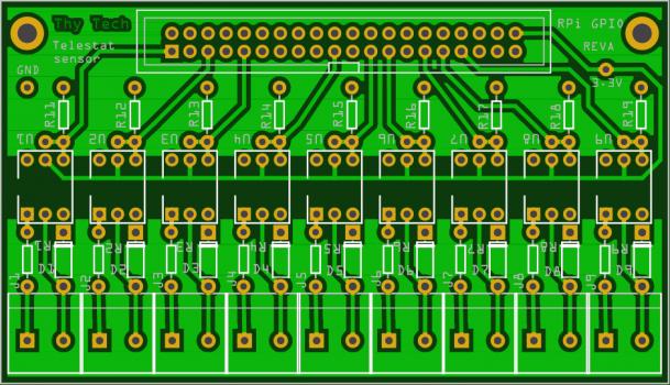 """Gulvvarme sensor: Fra Breadboard til """"professionelle"""" printplader"""
